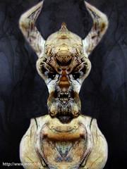 simmetery does ugly things (Monch_18) Tags: france art texture dark pareidolia mirror driftwood photomontage devil nightmare bizarre montreuil laid monstre monch trange dmon matire boisflott expressif anthropomorphisme pareidolie