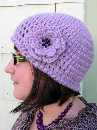 Easy Crochet Flower Patterns For Hats : Easy Crochet Flower For Hat galleryhip.com - The Hippest ...