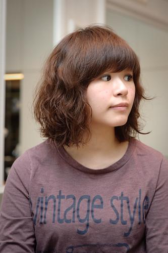 【女生髮型】燙個好可愛的造型吧