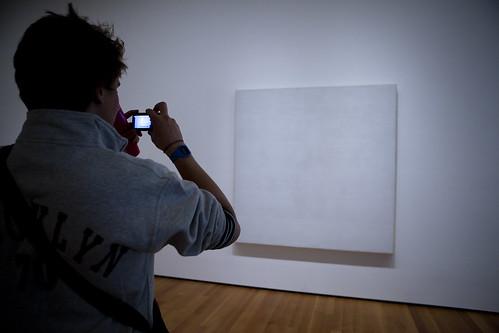 MOMA: White on white