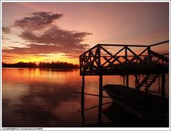 P3284518_1 Unedited (sam4605) Tags: sunset seascape landscape ed scenery olympus malaysia e1 sabah pemandangan zd putatan sabahborneo 1442mm lokawi