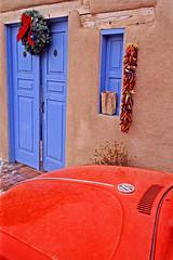 Primary Colors (bob simari) Tags: newmexico southwest adobe taos
