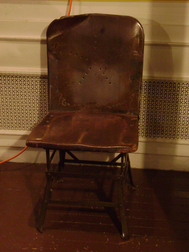 Linotype Operator's Chair