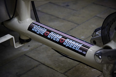 Frame Stickers Style Over Speed