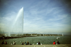 Geneva (Maartenvandamme.nl) Tags: trip 350d switzerland geneva toycamera basel van maarten baselworld damme maartenvandammenl