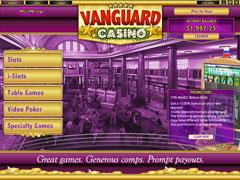 Vanguard Casino Lobby