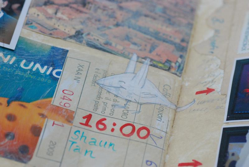 Bologna travel book 13, detail