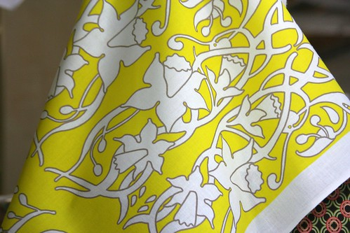 Fabric Of the Week: Daffodils
