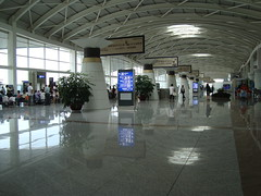 Hohhot/Baita Airport, Hohhot, China (Chaloos) Tags: china airport asia aviation terminal aeroport chine innermongolia mongolieinterieure
