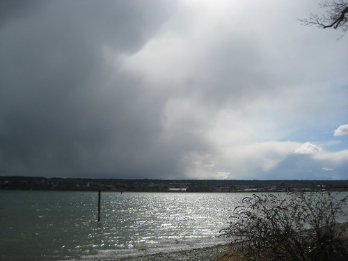 Wetterwechsel überm See