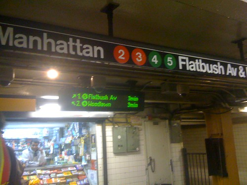 Franklin Avenue Station Subway Schedules online