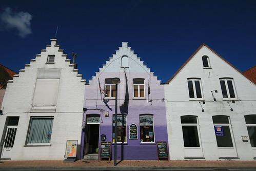 The Blue House, Adinkerke, Belgique
