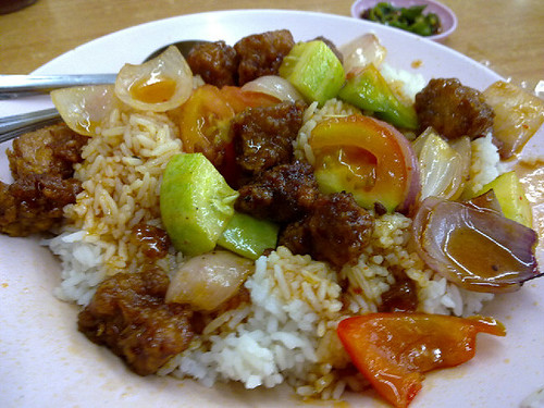 Sweet & Sour Pork Rice