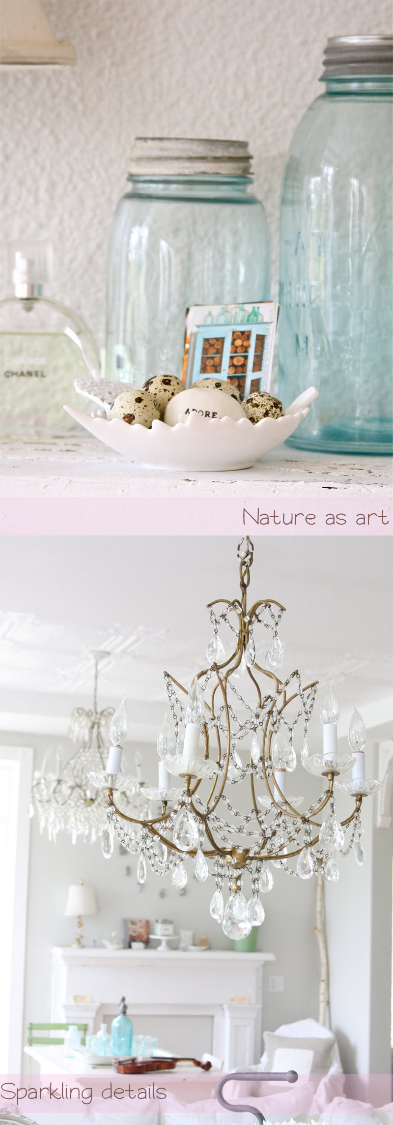 A Beach Cottage + Dreamy Whites Blog