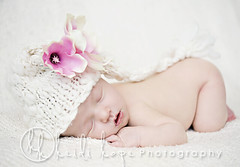 (Heidi Hope) Tags: pink portrait baby flower girl hat soft knit newborn heidihopephotography heidihope httpwwwheidihopecom httpwwwheidihopeblogspotcom