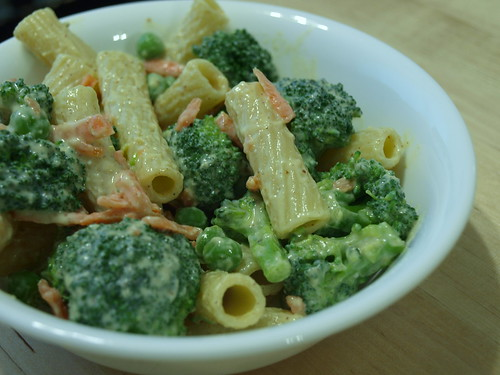 Winter Pasta Salad with Creamy Mustard Vinaigrette