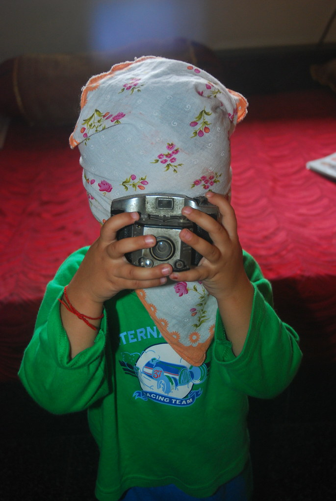Teaching Photography To My 2 Year Old Grand Daughter