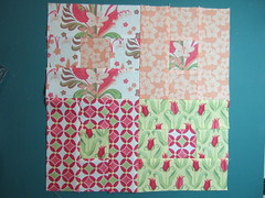 Verna JR quilt along block 3