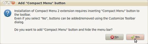 6.5 - compact menu dialog