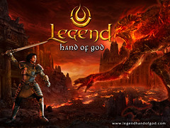 Legend Hand of God wallpaper E01