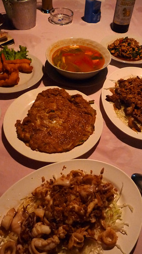 Koh Samui Sunset dinner @ My Friend Restaurant コサムイ タイレストラン マイフレンドレストラン5