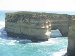 Coastal rock formations, Great Ocean Road, Victoria (Arthur Chapman) Tags: arch australia victoria coastline greatoceanroad rockformation geo:country=australia geocode:accuracy=2000meters geocode:method=googleearth geo:region=australasia