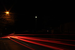 Night lines 1 (Alexander Duska Bratza) Tags: road red england white cars church its lines night canon evening long exposure driving time hill yay overlay f25 caterham stanstead sooc 450d bratza