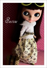 Satine with new skirt