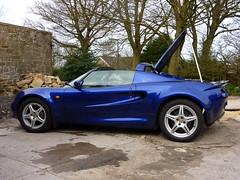 New Elise (Bryn Pinzgauer) Tags: lotus elise convertible sportscar softtop azureblue