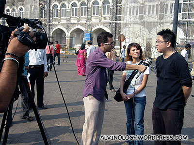Interview with India's News X TV
