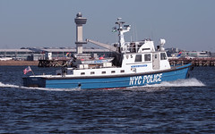 PO SEAN McDONALD, NYPD, in Jamaica Bay, Queens, New York, USA. (2009/2010). (Tom Turner - SeaTeamImages / AirTeamImages) Tags: city nyc blue rescue usa newyork water port bay coast harbor boat search marine unitedstates harbour transport shoreline police vessel spot safety jfk queens pony shore maritime transportation bigapple lawenforcement patrol channel rockaway spotting finest waterway lauch jamaicabay kennedyairport baywater tomturner nycpolice nypc poseanmcdonald