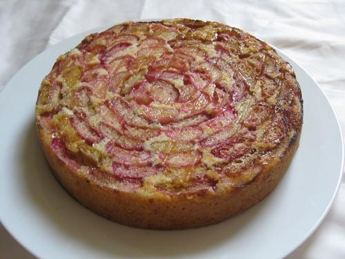 Rhubarb Cake 1