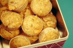 birnenmuffins mit walnüssen oder auch muffins ohne zucker
