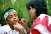 Boishakhi Alpona (Russell John) Tags: boy colors facepainting kid colours dhaka bangladesh bangla shahbag bengali pohelaboishakh alpona 450d 55250mm russelljohn portraitunlimited পহেলাবৈশাখ