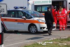 Incidente Autodromo di Imola: primi soccorsi ad Alessandro Tasselli