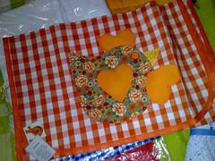 POrta travessas (Dipano Ateli) Tags: de galinha pano patchwork prato cozinha jogos tecido aplicao apliqu dipano