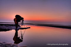 light painter (gobayode photography...times) Tags: camera reflections landscape photographer seascapes tripod dslr cameraman lightpainter naturalcolours masterphotographers sunsetcolours abigfave sunsetshots mliebenberg
