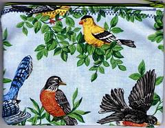 birdy zip pouch