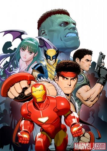 Marvel vs Capcom 3 Fate of Two Worlds Promo Art