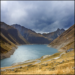 Lac du grand maison (Pilar Azaa Taln ) Tags: france alps alpes francia mywinners abigfave placetodream thesuperbmasterpiece 100commentgroup pilarazaa barragedegrandmaison lacdugrandmaison montagnedesseptlaux