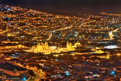 Cusco (Jose Orihuela) Tags: peru yellow cuzco night landscape noche photographer cusco jose nuit hdr peruvian fotografo orihuela cusqueño