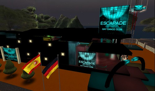 escapade club in second life