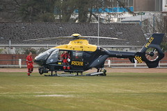 G-SPAO Eurocopter EC-135 + EMRS (RS Pictures) Tags: scotland support argyll air police helicopter bond 51 services strathclyde eurocopter unit dunoon ec135 gspao