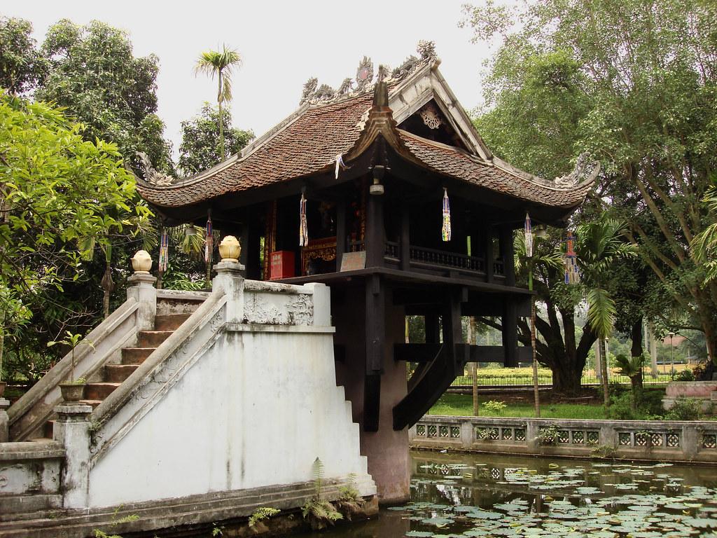One Pillar Pagoda by Jorge Lascar, on Flickr