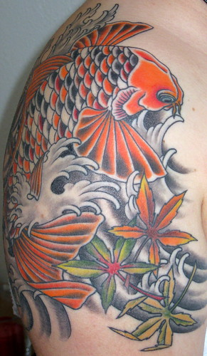 Nessa Koi Carp Finished 2 All work completed