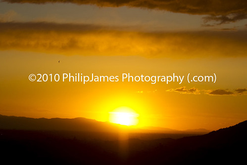 Scottsdale Arizona Sunset at Camelback Mountain by PhilipJames Photography