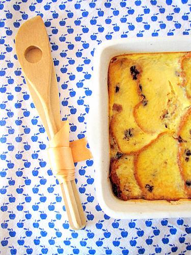 Bread and Butter Cake con Gocce di Cioccolato e Fava Tonka