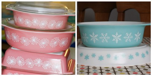 In Color Order The Pyrex Series Promotional Patterns Simple Rare Pyrex Patterns