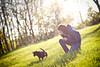 Yulka, Finn  and soap bubbles (36_frames) Tags: dog sun girl outdoors lifestyle naturallight sunny finn bethlehem cutegirl sunnyday soapbubbles yulka