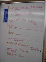 Model for Writing Dream Variation Poem